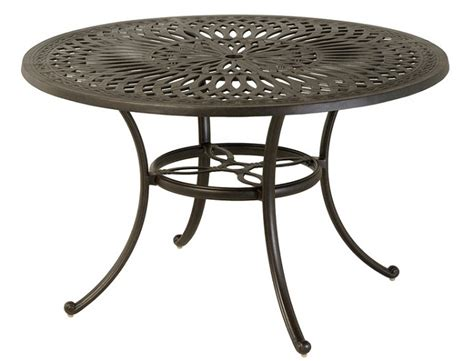 mayfair by hanamint luxury cast aluminum patio furniture