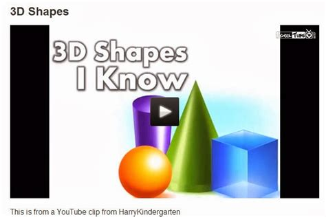 Here Are The 3d Shapes That I Know Myideasbedroomcom