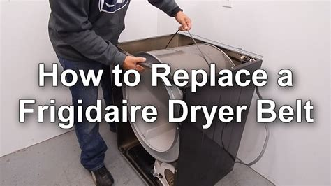 Replacing A Frigidaire Dryer Belt  How To Guide Youtube
