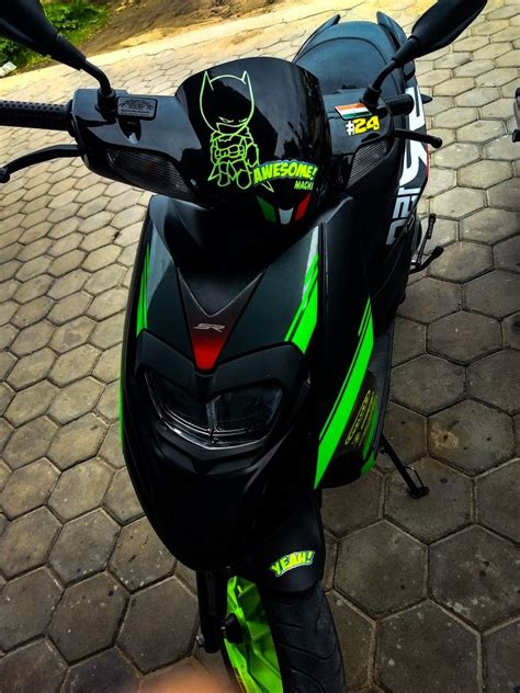 aprilia sr  modified  bikers krishnagiri motorcycle