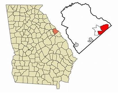 Georgia Grovetown Evans Harlem Columbia Martinez County