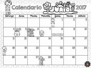 Fantástico calendario del mes de junio para planificar las actividades Educación Primaria