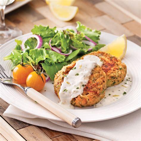 croquettes de saumon sauce citronn 233 e recettes cuisine et nutrition pratico pratique