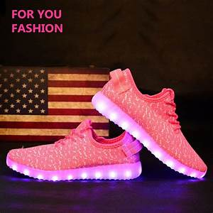 Light Pink Yeezys Md Men Women Light Up Shoes Fashion Yeezy Boost Products