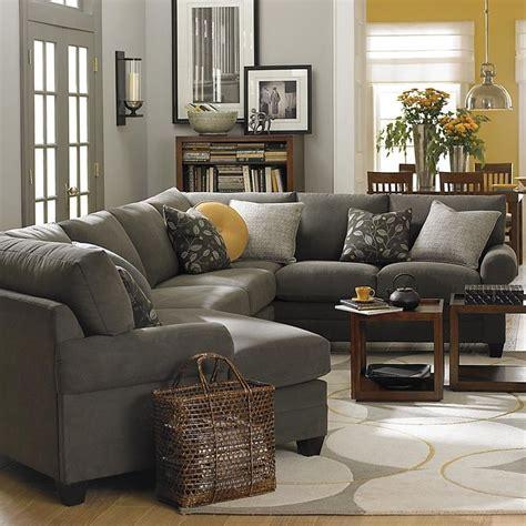 gray living room mustard dining room   home
