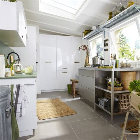 delinia cuisine meuble de cuisine blanc delinia play leroy merlin