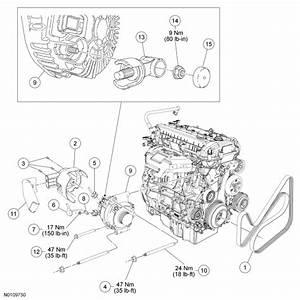 34 2010 Ford Escape Serpentine Belt Diagram