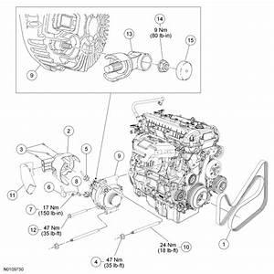 34 2010 Ford Escape Serpentine Belt Diagram