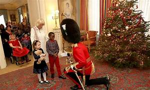 The Duchess of Cornwall unveils Clarence House Christmas
