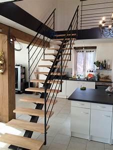 Escalier Metal Et Bois : escalier m tallique lyon escalier m tal villefranche ~ Dailycaller-alerts.com Idées de Décoration