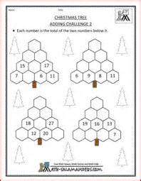 christmas math challenge  answers  ideas