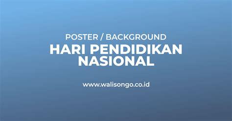 poster hari pendidikan nasional hardiknas  background keren