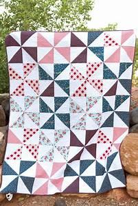 Summer Pinwheel Quilt - The Polka Dot Chair