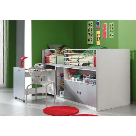 bureau gain de place pas cher meuble chambre d 39 enfant lit combiné en pin pour enfants