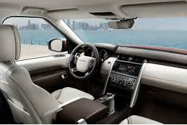 2017 Land Rover Discovery First Look Review  Land Rover Discovery 2017 Interior