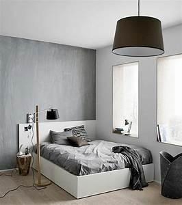 incroyable chambre ado fille noir et blanc 3 en gris et With chambre fille noir et blanc