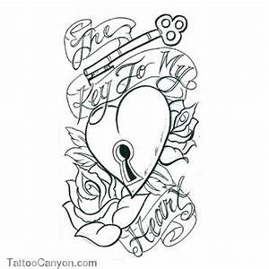 Heart With Banner And Rose Drawings - Get Picture's | Art ...