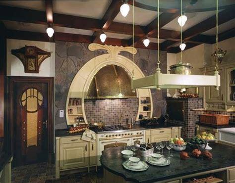 Art Nouveau kitchen design   Home Decoz