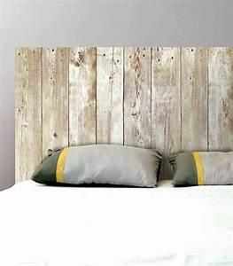 Planche De Bois Flotté : tetes de lit en bois tete lit bois flotte decoration romantique accueil tete de lit en planche ~ Melissatoandfro.com Idées de Décoration
