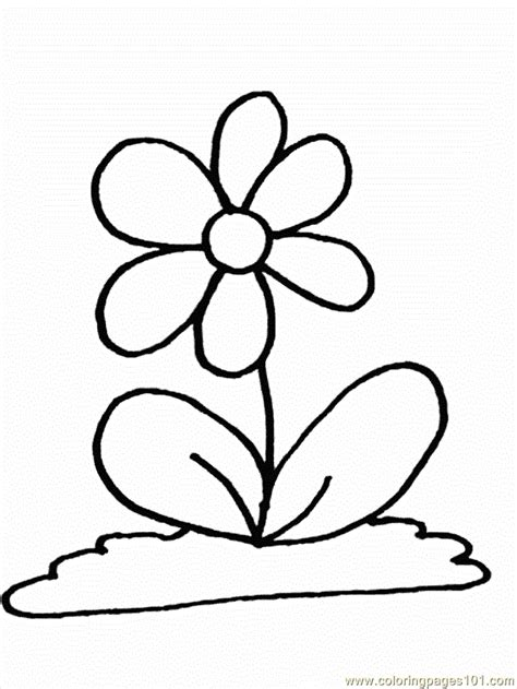 flower coloring pages   coloring page  flowers coloring pages coloringpagescom