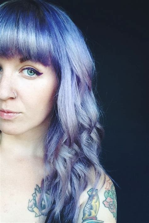 Hair Color by 20 Grey Blue Hair Color Trend For