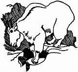 Goat Coloring Mountain Sketch Outline Colorluna sketch template