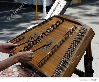 Dulcimer Hammered Played Being Featurepics Outdoors