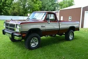 1992 Dodge Power Ram W250 4x4 5 Speed Le 69k Original