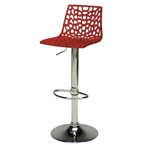 tabouret de bar transparent design spider achat vente tabouret de bar cdiscount