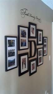 Faith family and friends hallway wall collage ideas