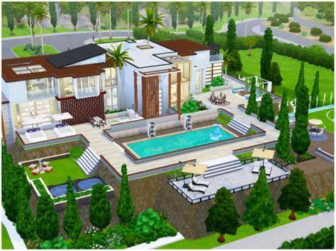 sims resource modern dream mansion  mini simmer sims  downloads