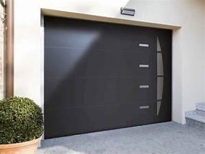 Porte De Garage Gris Anthracite : porte de garage gris anthracite ~ Melissatoandfro.com Idées de Décoration