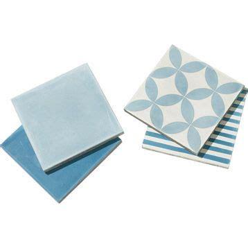 carrelage int 233 rieur en carreau de ciment bleu jean 20x20cm leroy merlin 63euros carreau