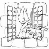 Coloring Window Princess Janela Castle Fenster Princesse Kleurplaat Colorir Kastelen Coloriage Malvorlagen Desenho Ausmalbilder Konabeun Adults Imprimer Colouring Kleurplaten Tudodesenhos sketch template