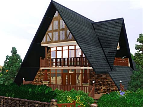 aframe homes mod the sims a frame at arleston rd