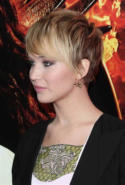 jennifer lawrence  short hair short hairstyles