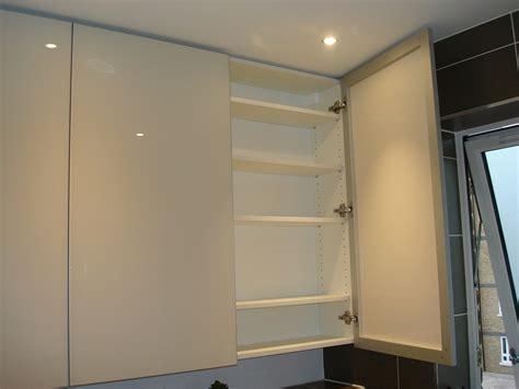 custom  luxury bathroom painted glass cabinets