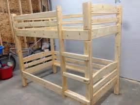 woodwork 2x4 bunk bed plans pdf plans