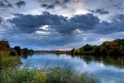 River Snake Sunrise Commons Nature Usa Wikimedia