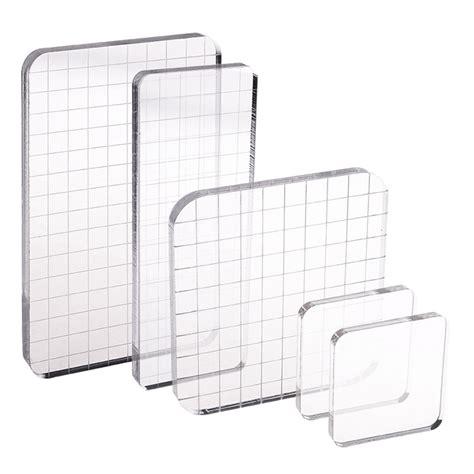high transparency acrylic handle block  diy transparent