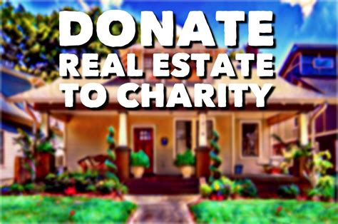 estate property tired taxes donation
