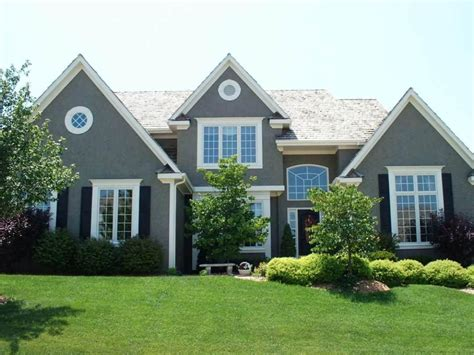 showy grey exterior house of and exterior paint colors