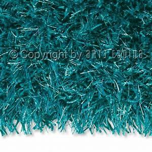 Tapis shaggy beat bleu turquoise arte espina 200x200 for Tapis shaggy bleu turquoise