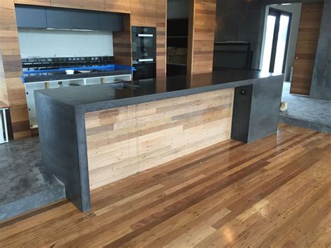 Kitchen Bench Tops Qld by Gallery Concrete Benchtops Melbourne Benchmark Benchtops