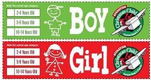 Operation Christmas Child Shoebox Labels Faithful Provisions