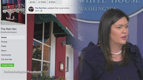 Tourism Suffering In Town Where Red Hen Kicked Out Sarah