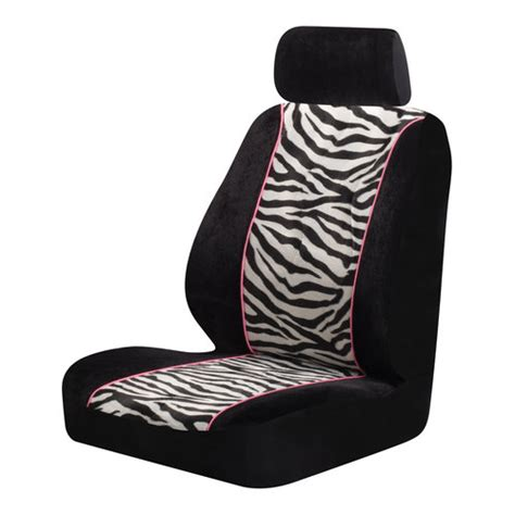 chair seat covers walmart auto expressions zebra print seat cover walmart