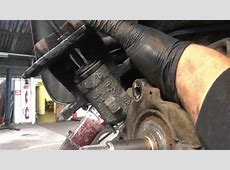 Renault Megan Parking Brake Repair Part 2 YouTube