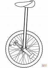 Unicycle Coloring Clipart Outline Drawing Printable Clip Cliparts Sketch Bear Cartoons Template Supercoloring Library Getdrawings Crafts Skip Categories sketch template