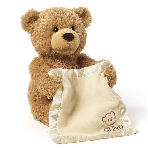 gund peek a boo teddy bear animated stuffed animal ebay
